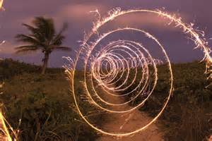 Spiral Trail - Photograph Jason D. Page