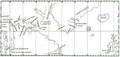 Henry Hudson's Map