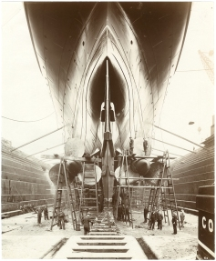 Lusitania launched 1907