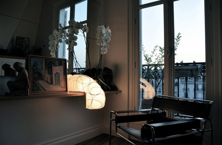 Designer Anna Leymergie has created Lampe L, a lamp made for angles.