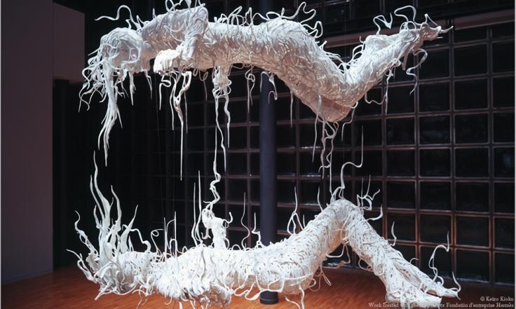Sculptural works by Japanese artist Motohiko Odani.