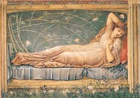 Sleeping Beauty by Edward Burne-Jones 1871