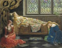 Sleeping Beauty by John Collier 1929