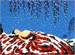 Sleeping Beauty by Erte