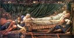 The Sleeping Beauty by Edward Burnes-Jones 1890