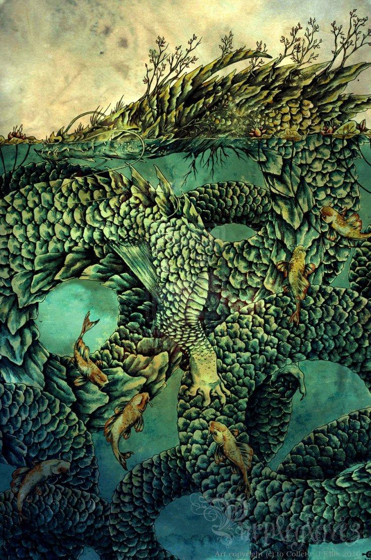 River Dragon by Collette J Ellis