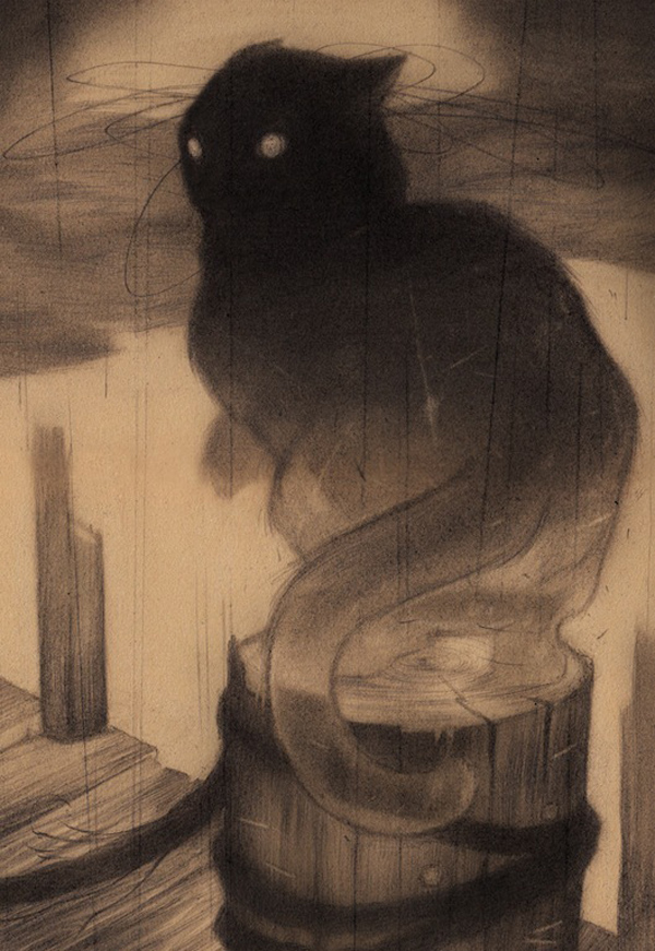The Docks, 2012 Sam Wolfe Connelly - Drawings: Graphite on Paper