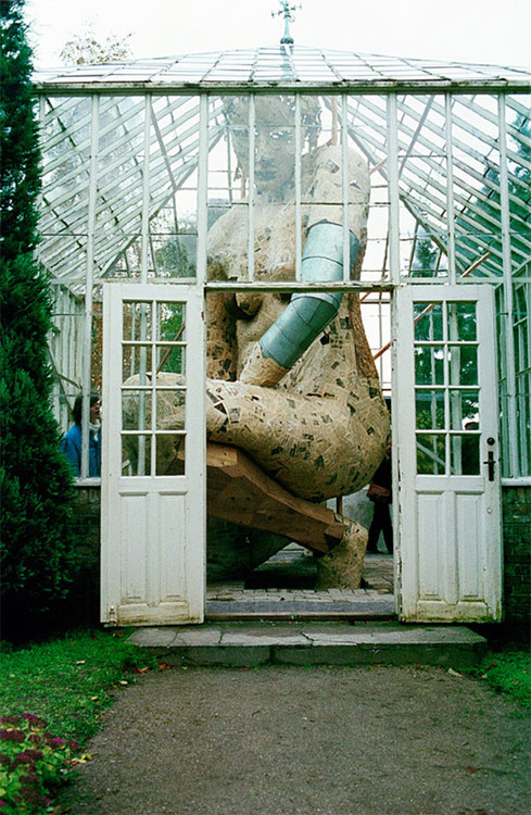 Susanne Ussing, I Drivhuset (In the Greenhouse), installed at Ordrupgaardsamlingen 1980.