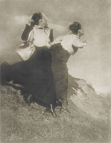 Wanderer Photo by Heinrich Kuhn  1915