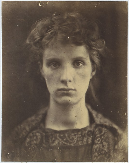 Casseiopia Photograph by Julia Margaret Cameron 1866  Albumen silver print from glass negative