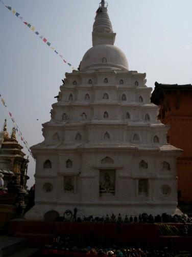 Swayambhunath, Mountaintop Buddhist temple in Kathmandu