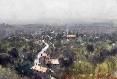 Rainy Day Vista Dorgdogn
