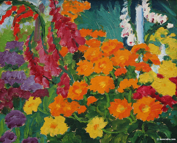 Flower Garden Marigolds