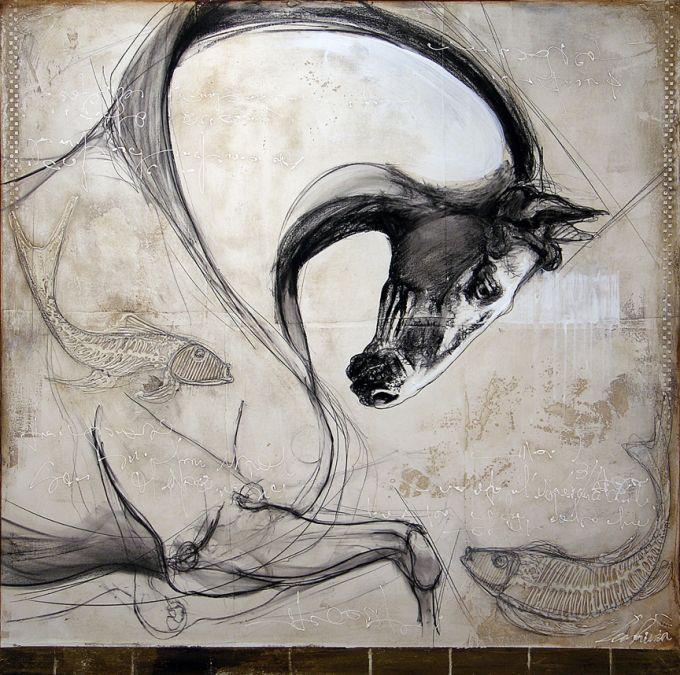 Le coursier de Neptune/ The Horse of Neptune by Léa Rivière