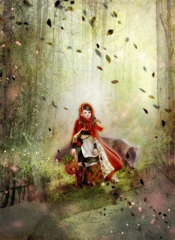 赤ずきん/ Little Red Riding Hood by Miharu Yokota