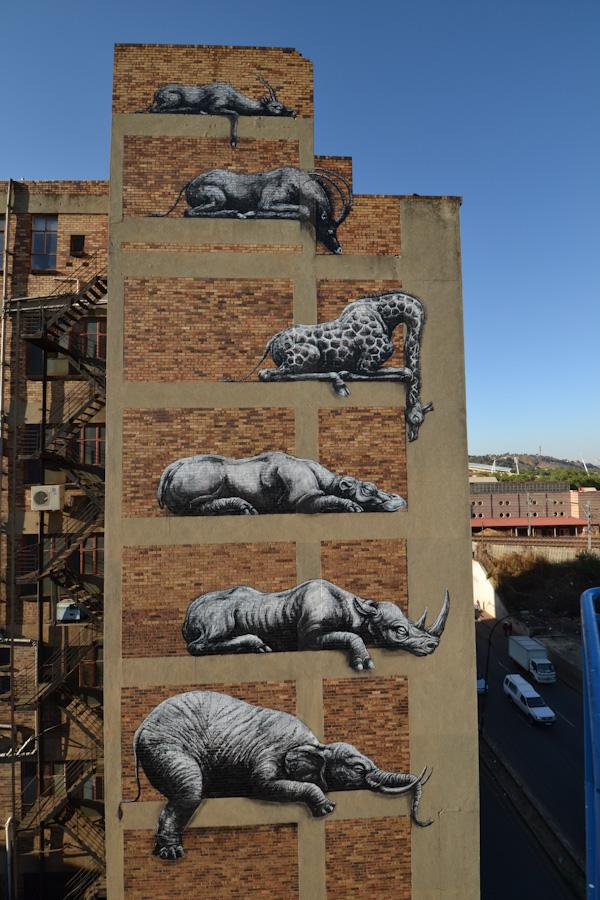 Johannesburg, South Africa artist, ROA
