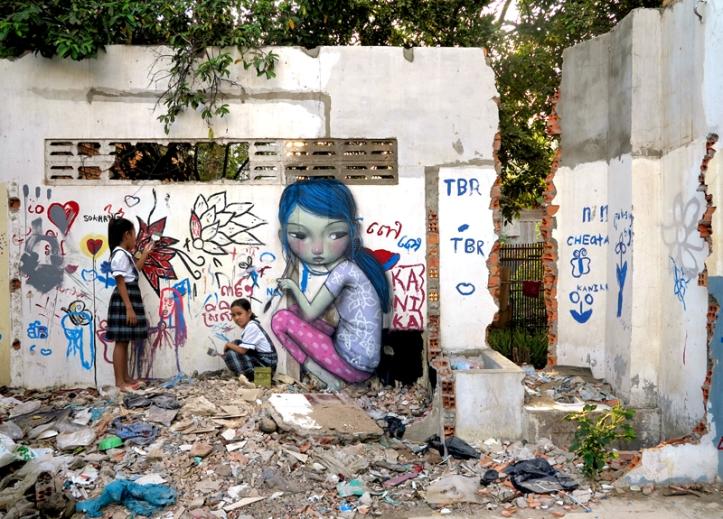 Seth Globepainter - Pnhom Penh, Cambodia