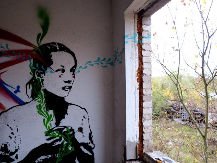 Berlin, Germany artist Stinkfish