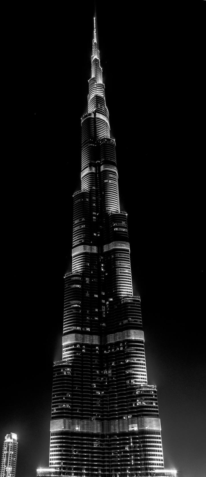Burj Khalifa - the world's tallest building located in Dubai UAE- Photo by M. BAP