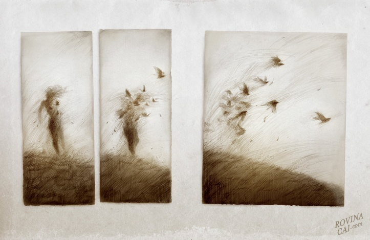 Iceland Sketches: Ravens