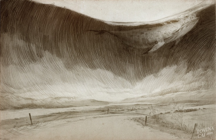 Iceland Sketches - The Whale Road