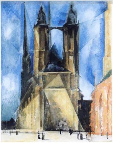 Market Church in Halle