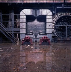 Neoclassical generating station - turbine hall