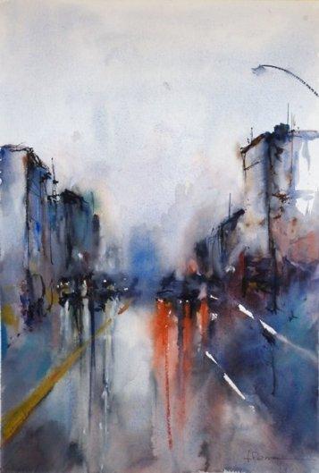Rain in Montevideo