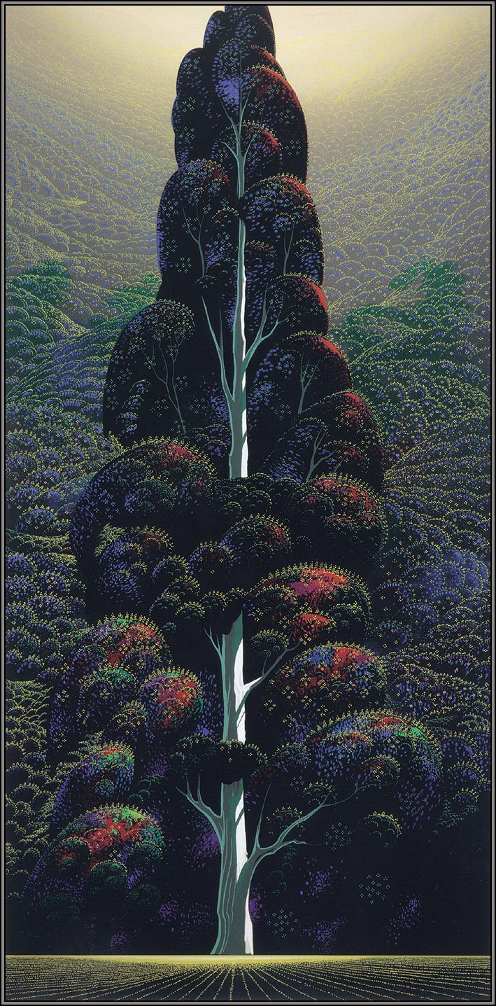 Reaching for the Sky by Eyvind Earle