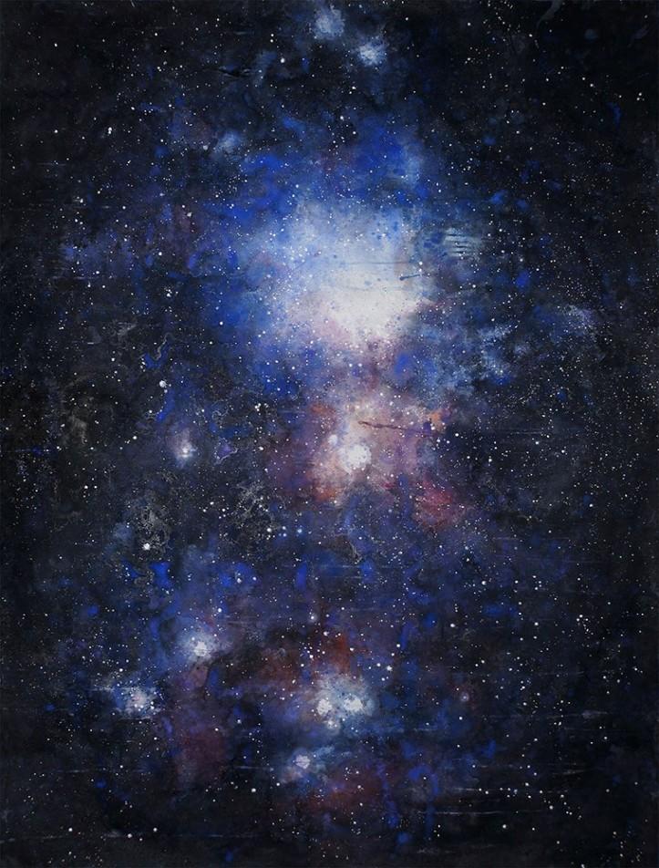 Star Birth, Orion by Ekaterina Smirnova  Original size app. 4.25 X  6 feet