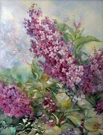 That Overgrown Lilac Bush by Bonny A Eberly