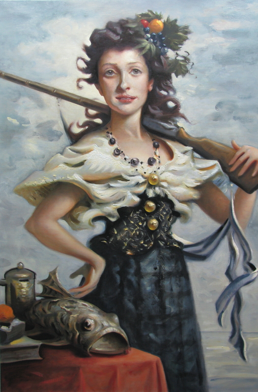 Woman in Possession of a Carp by Kai McCall