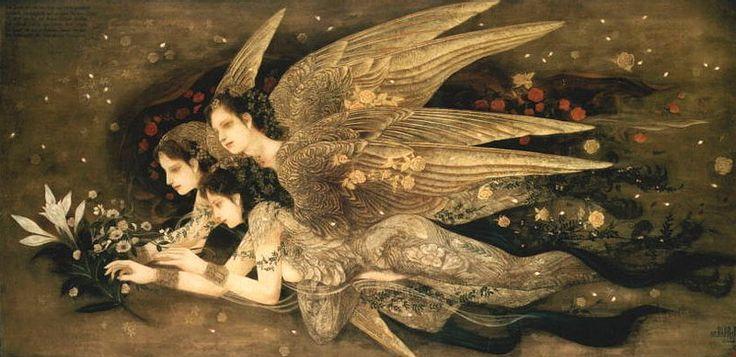 Seraphim - painting by Masaaki Sasamoto