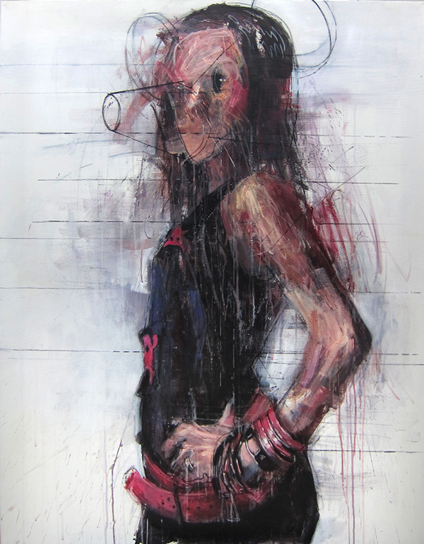 Painting by Kim Byungkwan