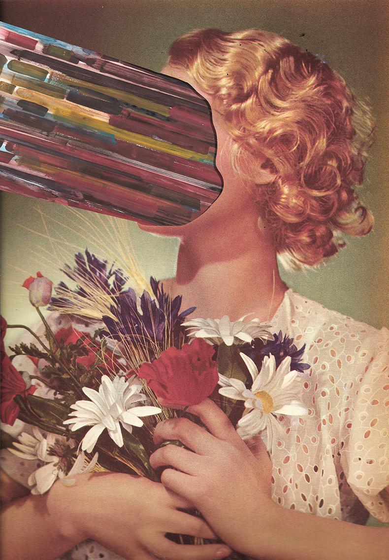Collage by Mattieu Boure