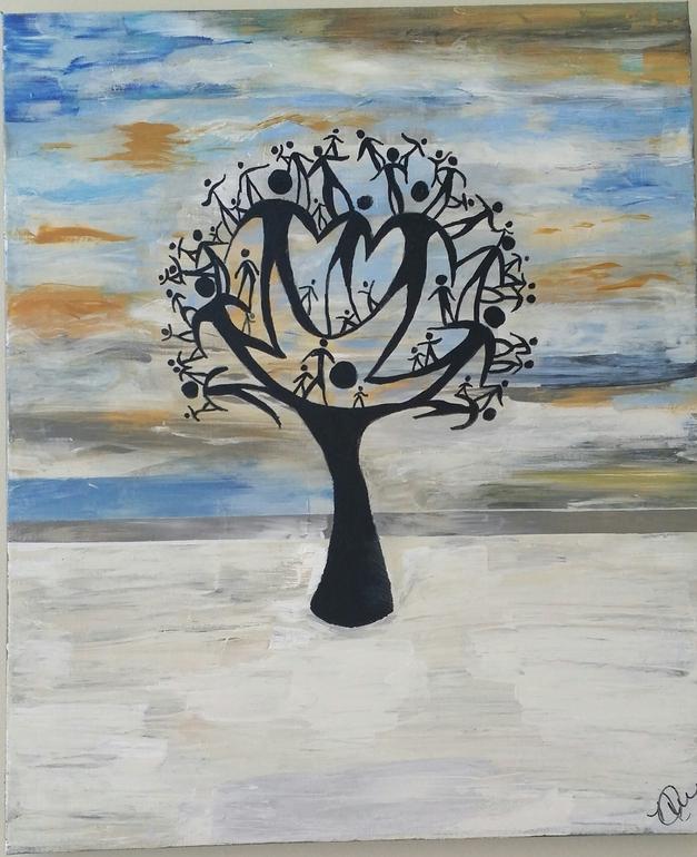 """Family Tree"" by Nikki Floyd Jahovic"