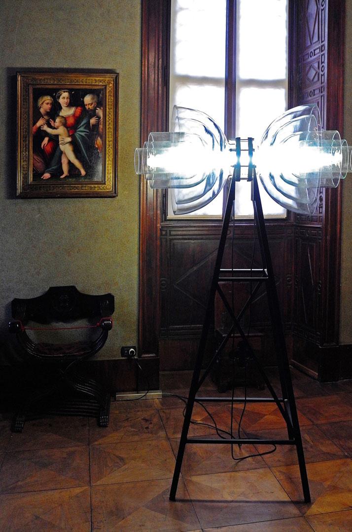 Transmission Lamp by Studio DeForm (Czech Repubblic)