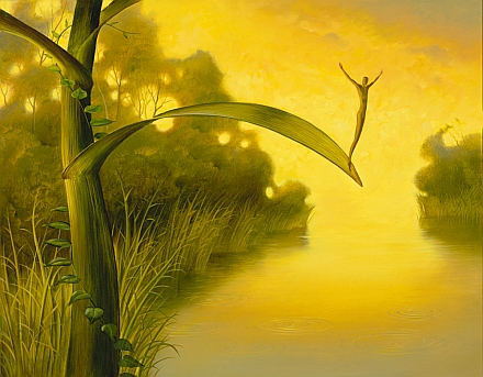 Waiting for Luck by Vladimir Kush