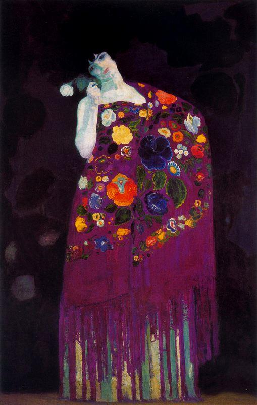 Painting by Hermenegildo Anglada Camarasa