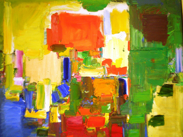 August Light by Hans Hofmann