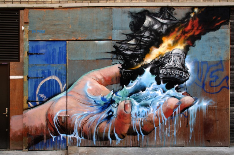 Graffiti by Jim Vision in New York USA