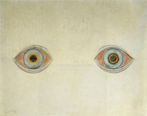 My Eyes in the Time of Apparition by August Natterer