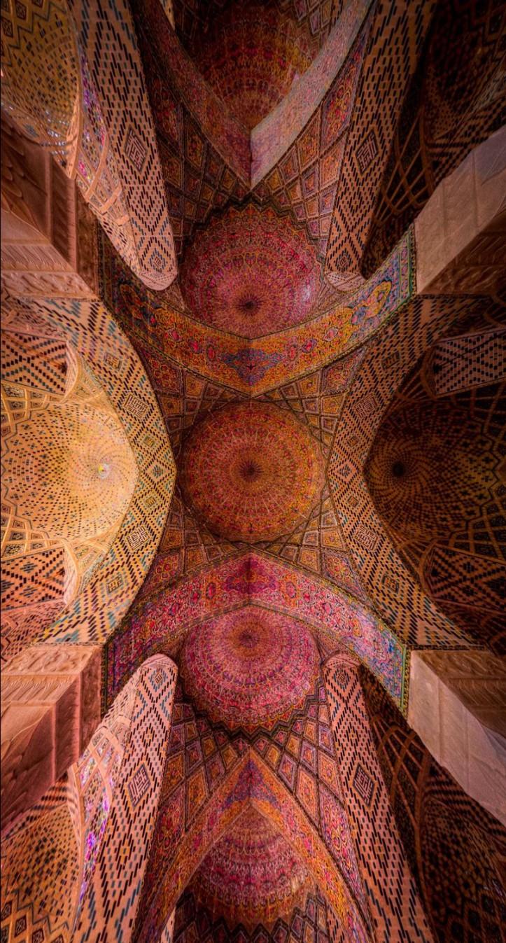 Nasir al-Mulk ceiling