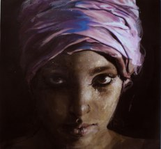 Somali Girl with Pink Turban
