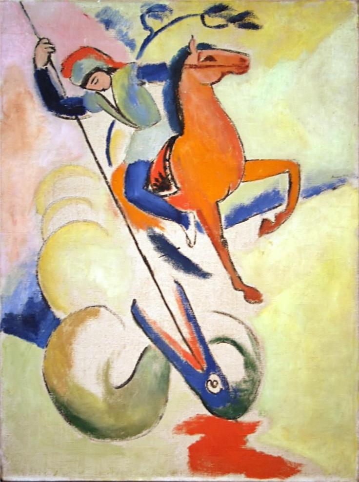 St. George by August Macke