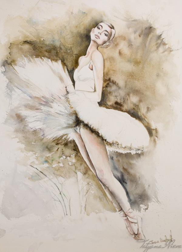 Watercolor by Tatyana Ilieva