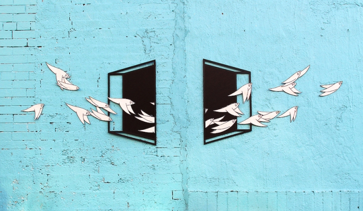 """Uncornered"" by Aakash Nihalani + Know Hope Brooklyn, NY"