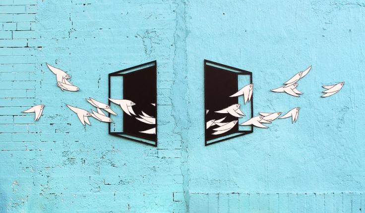 """""""Uncornered"""" by Aakash Nihalani + Know Hope Brooklyn, NY"""