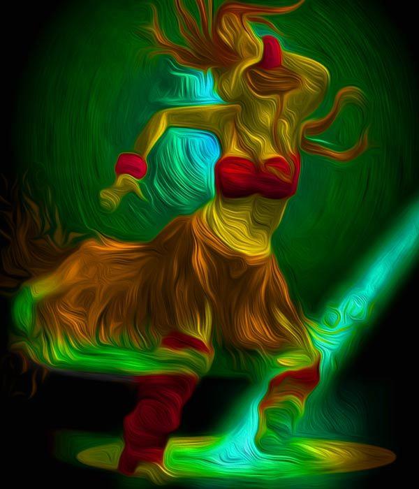 Digital Painting by  Muraleedharan t