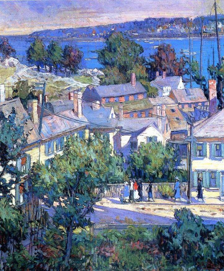 Sunday Morning by Mary Bradish Titcomb 1927 via Andoniss